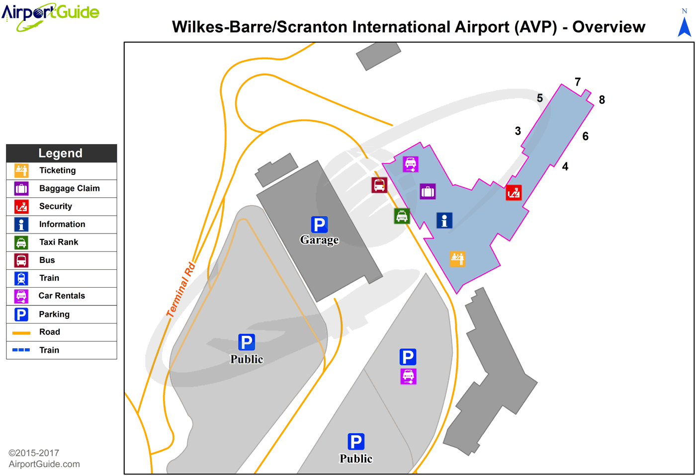 wilkes barre map