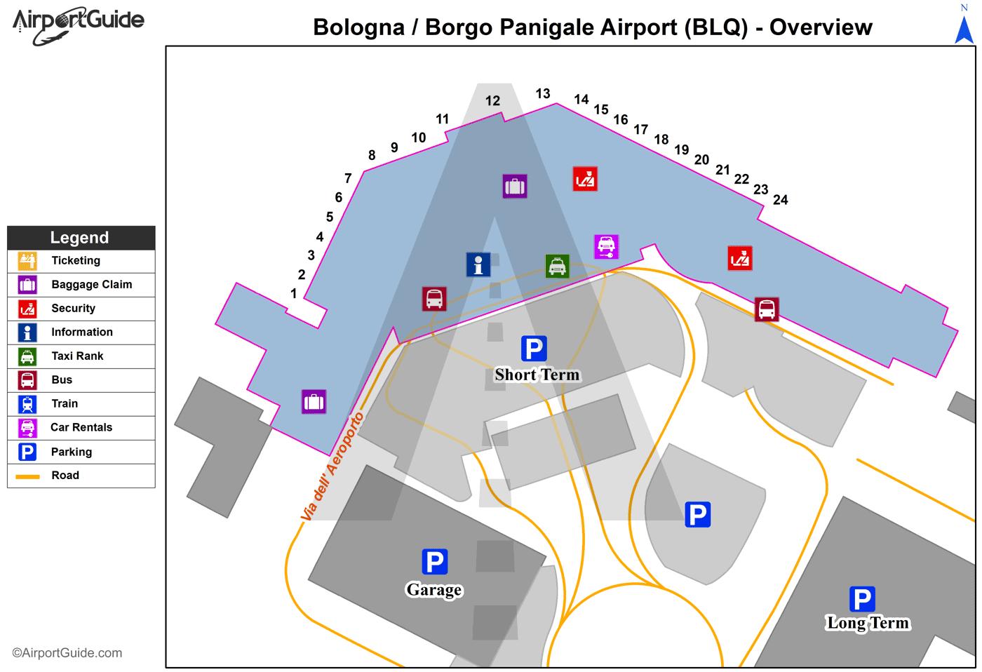 Bologna bologna borgo panigale blq airport terminal for Hotel bologna borgo panigale