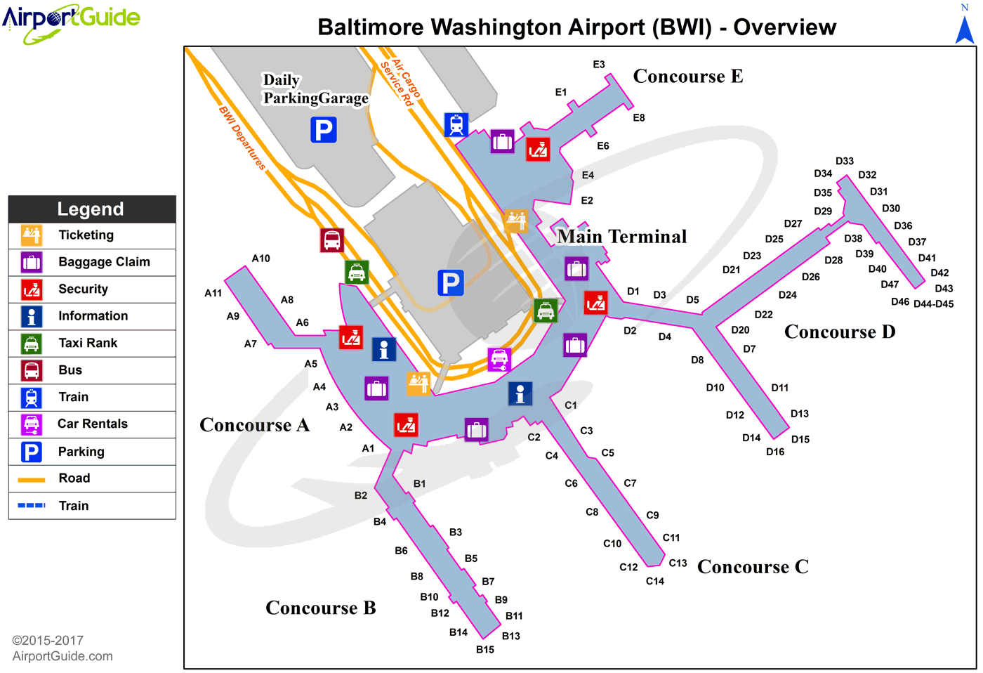 Baltimore Baltimore Washington International Thurgood