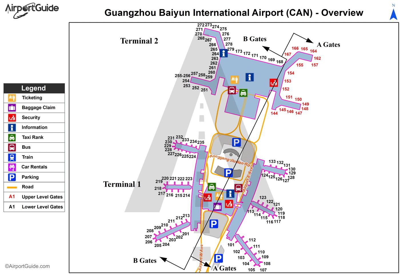 Gatwick Airport Floor Plan Guangzhou Canton Guangzhou Baiyun International Can