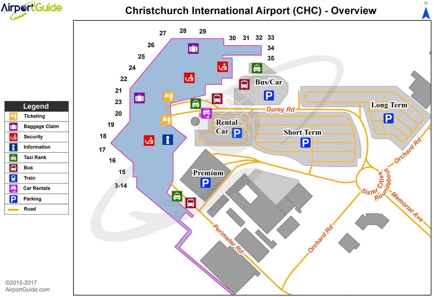 Car Rentals Christchurch International Airport
