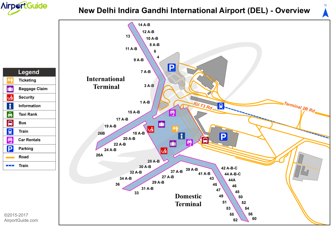 Delhi Indira Gandhi International Del Airport Terminal