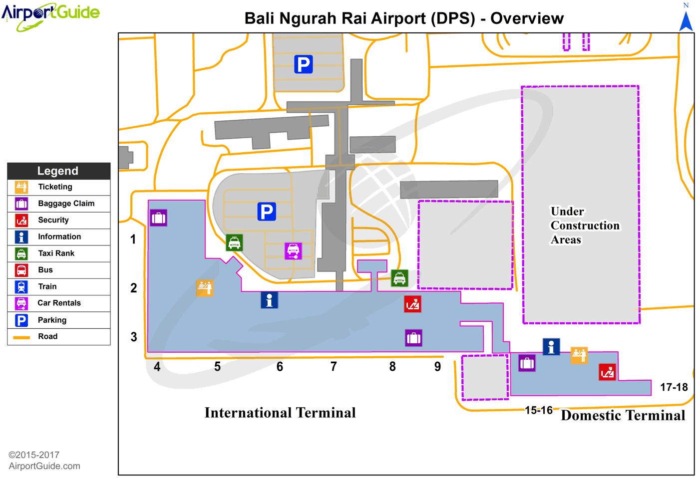 Bali Airport - Ngurah Rai International Bali Airport