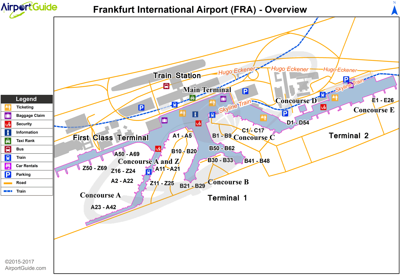 FrankfurtamMain Frankfurt am Main International FRA Airport