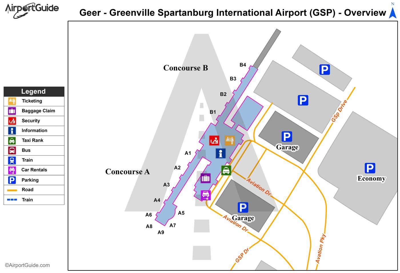 Gsp International Airport Car Rentals