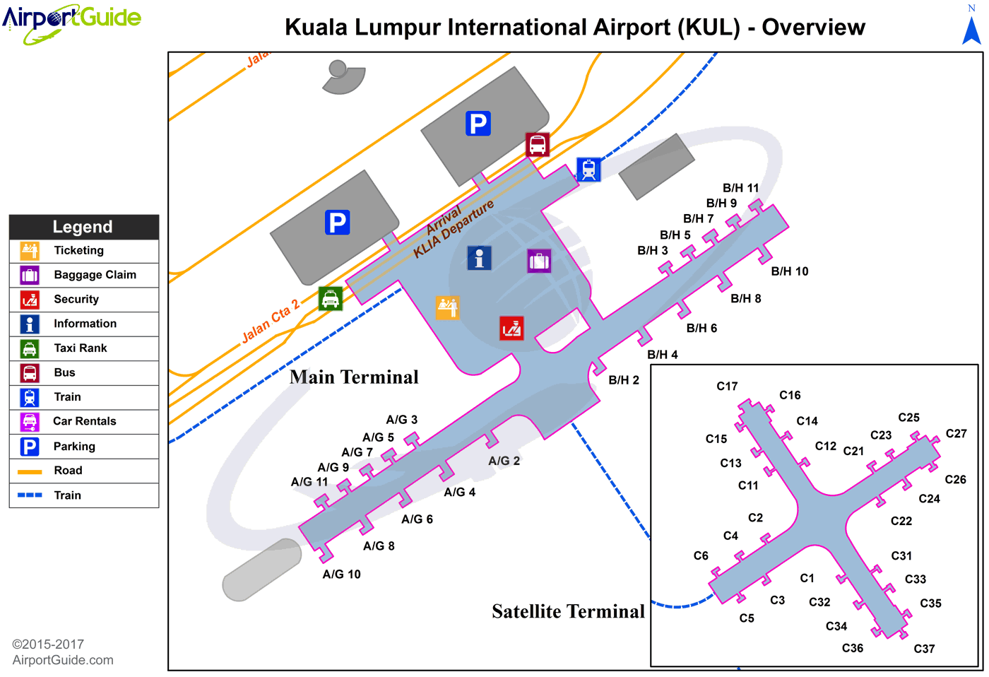 Car Rentals At Klia Airport Terminal
