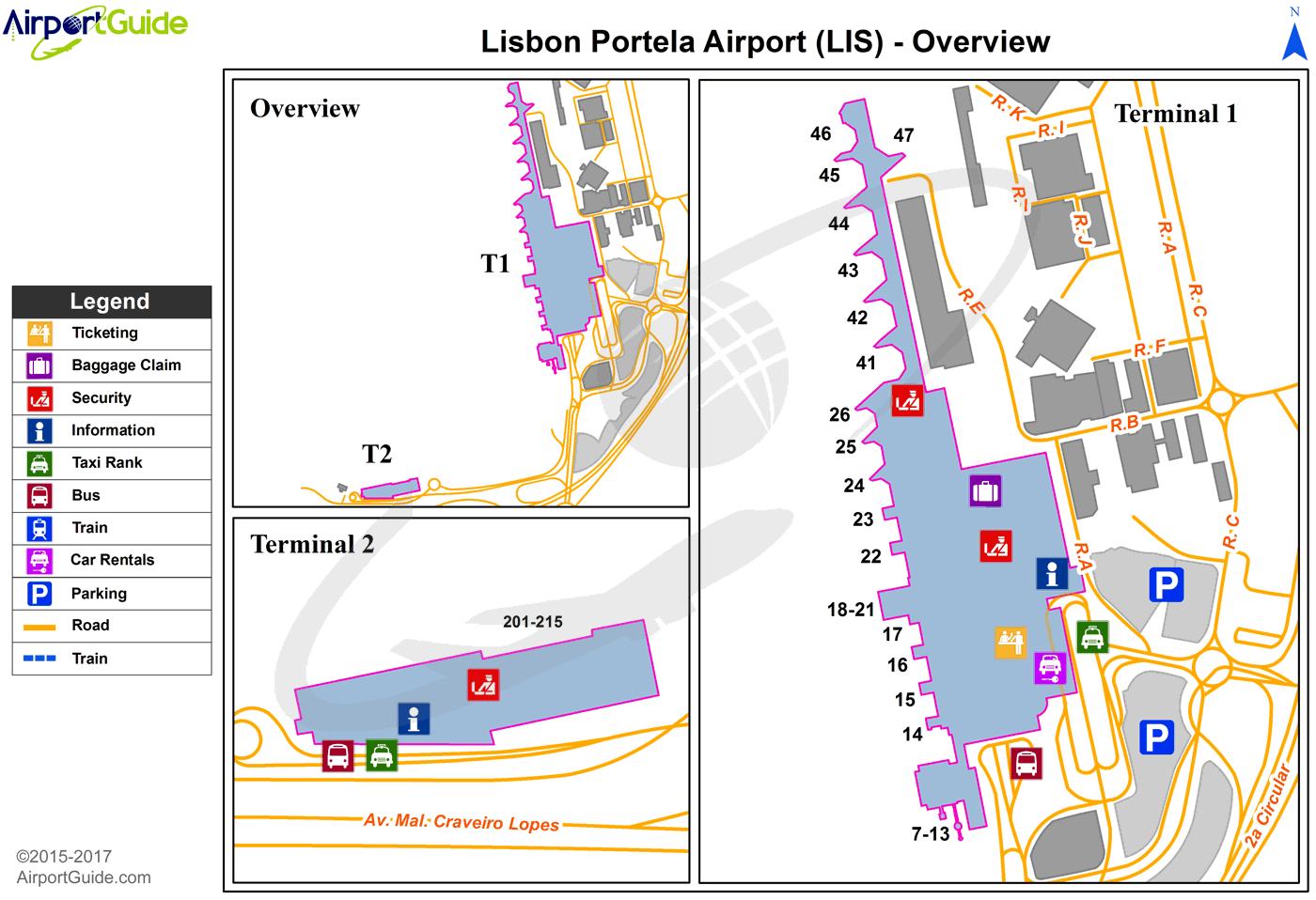 Аэропорт Лиссабона (LIS): терминалы, транзит, стыковки