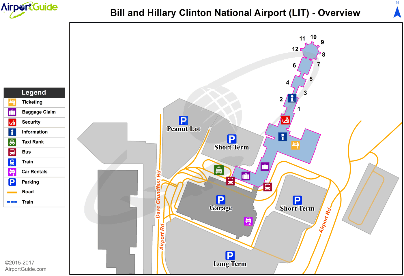 Little Rock Bill And Hillary Clinton NationalAdams Field LIT