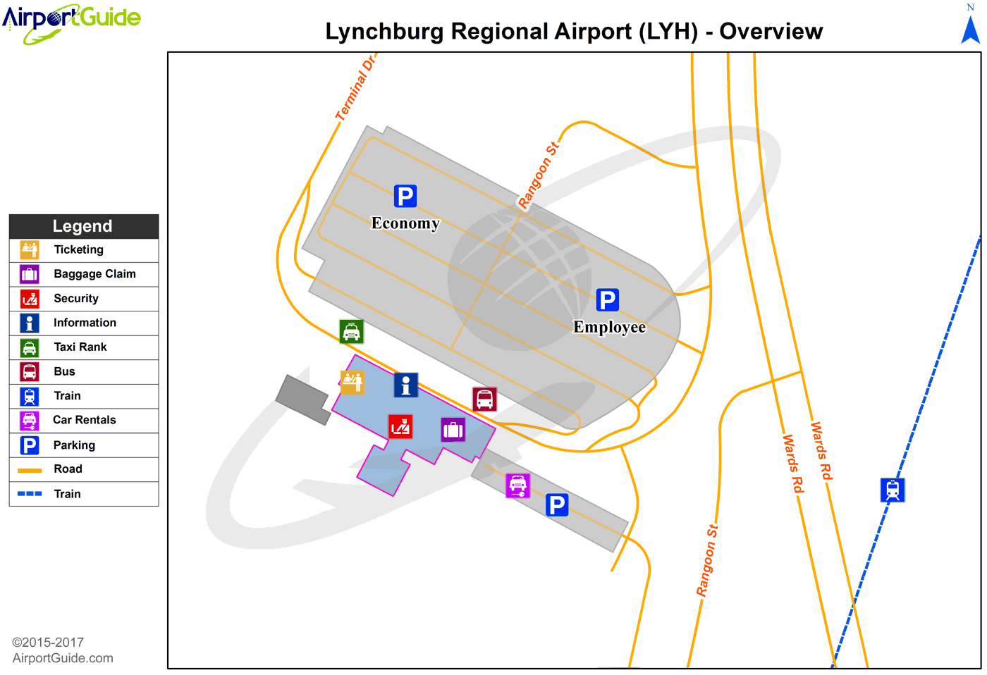 Lynchburg Lynchburg RegionalPreston Glenn Field LYH Airport