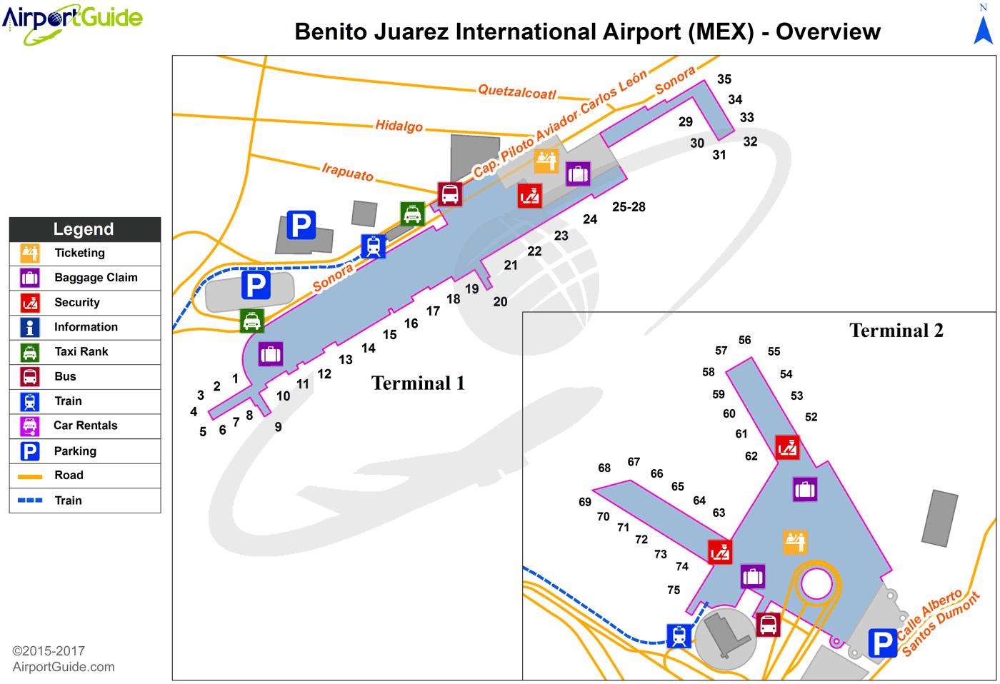 Mexico City - Licenciado Benito Juarez International (MEX ...
