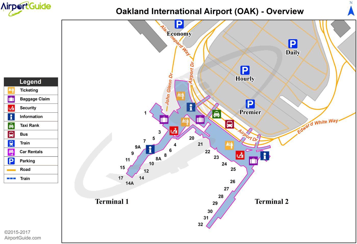 Oak Airport Hotels