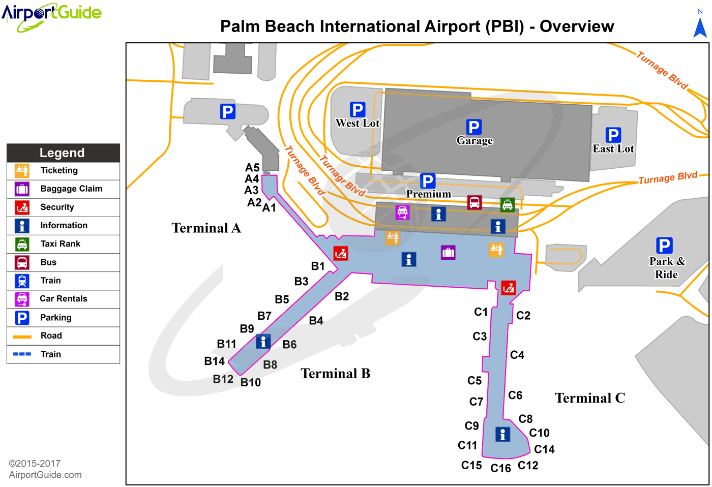 Map Of Cityplace West Palm Beach