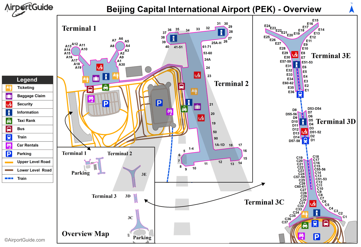 Boston Airport Terminal Map Map Of World U Page - Phl terminal map