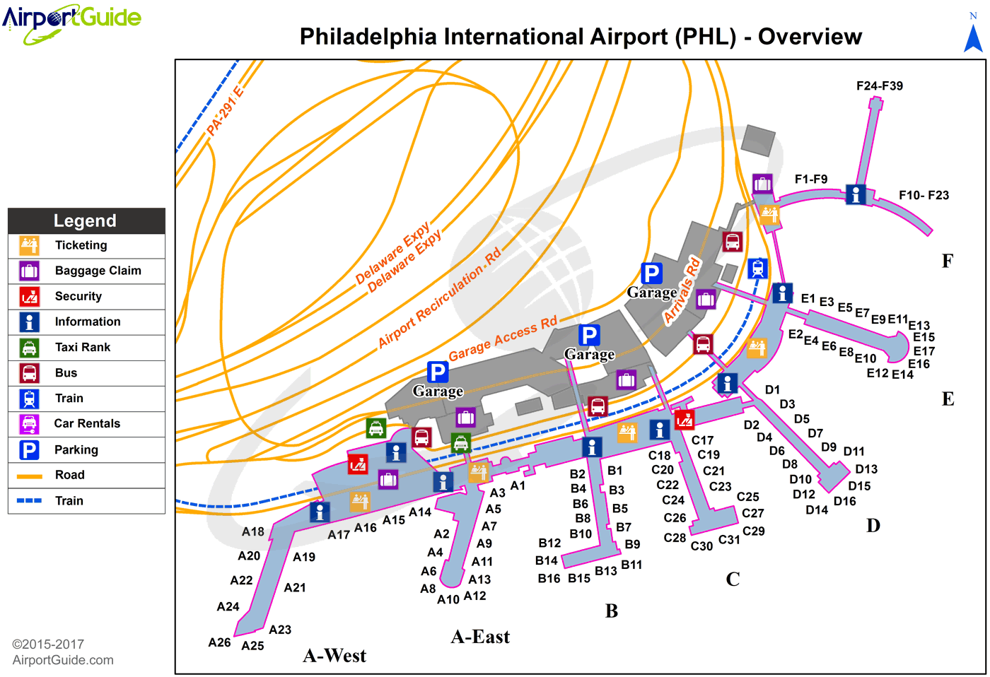 Philadelphia   Philadelphia International (PHL) Airport Terminal