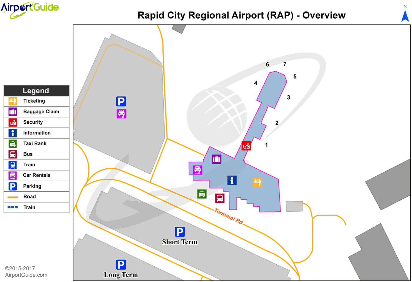 Rapid City Airport Directions