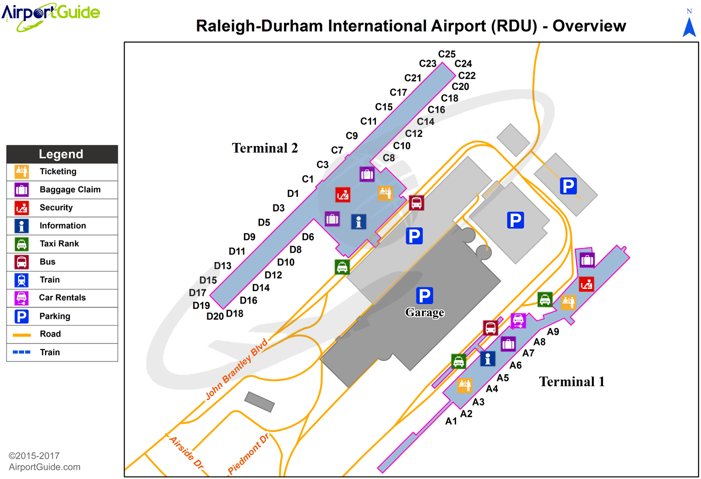Raleigh Durham Raleigh Durham International RDU Airport