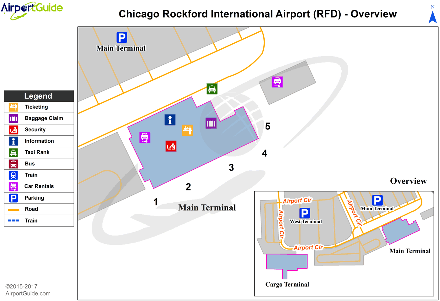 ChicagoRockford ChicagoRockford International RFD Airport