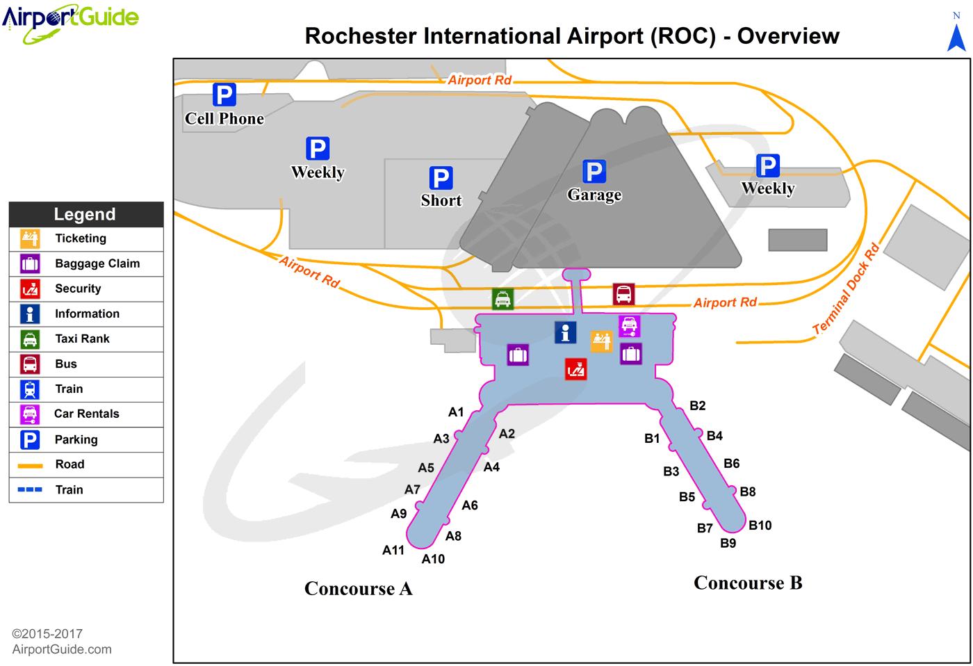 Hotels Near Roc Airport