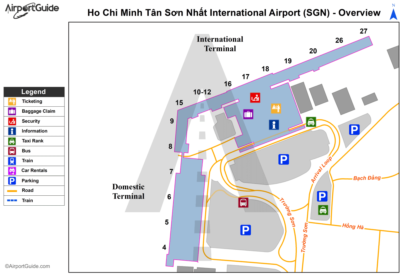 Ho Chi Minh City SGN Airport Shuttle Service