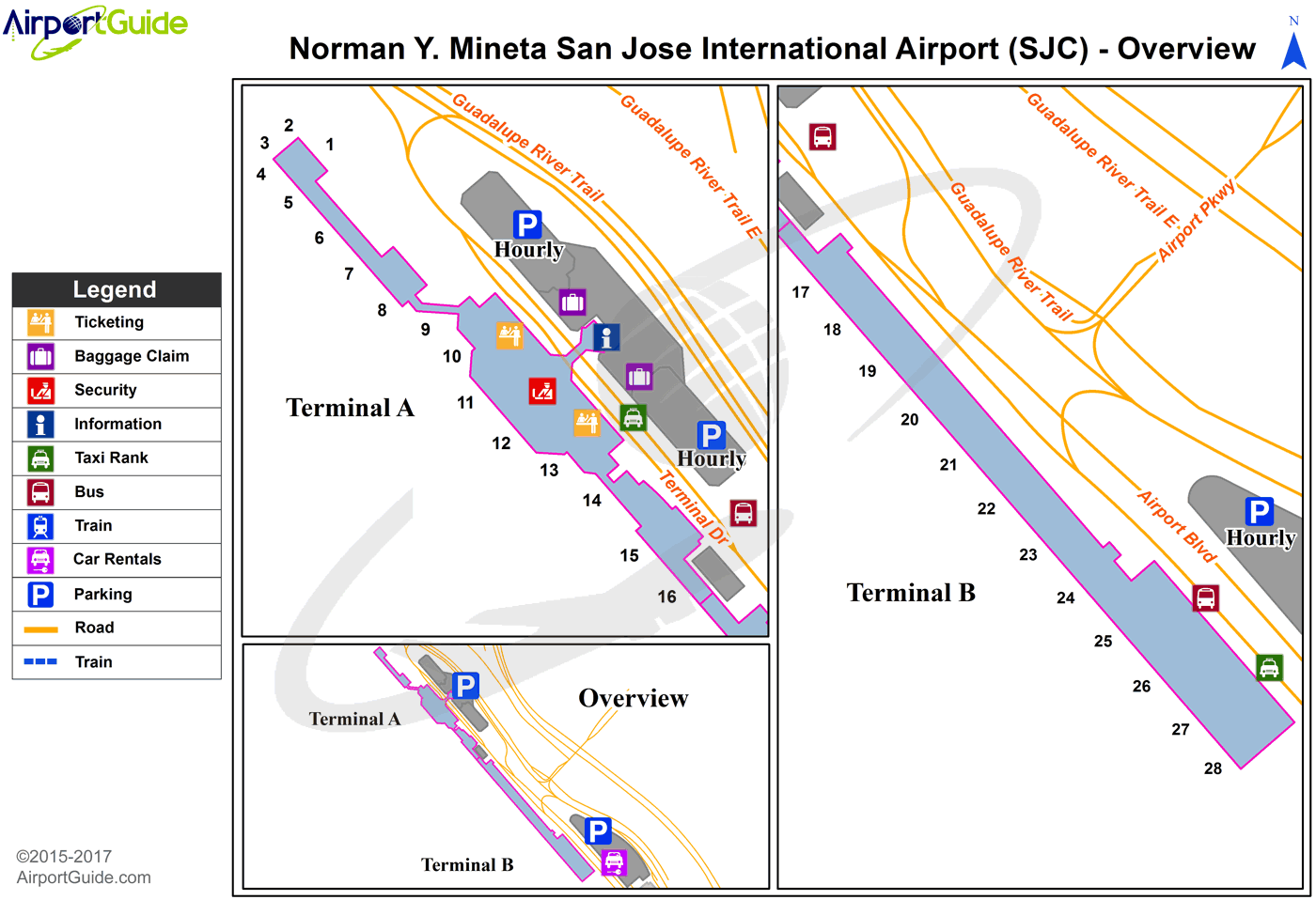 Map Of Hotels Near San Jose Costa Rica Airport