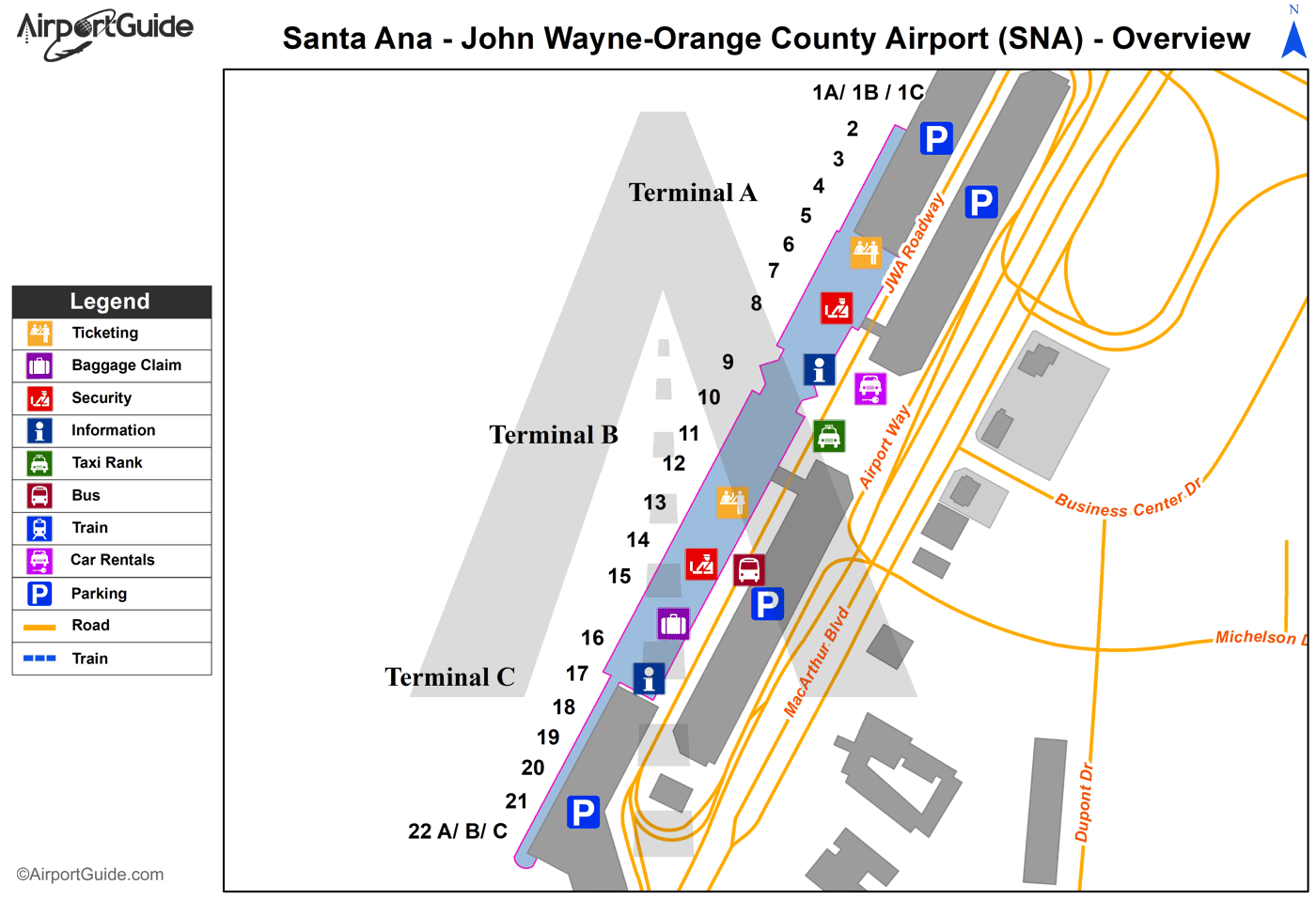 Santa Ana Airport Car Rental
