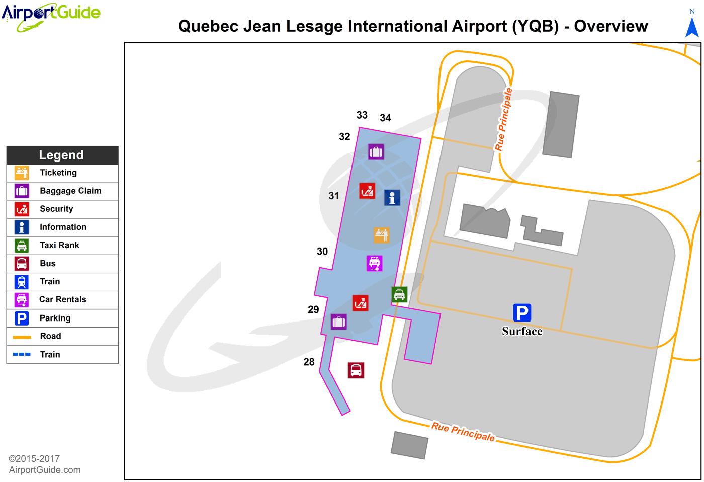 Quebec QuebecJean Lesage International YQB Airport Terminal